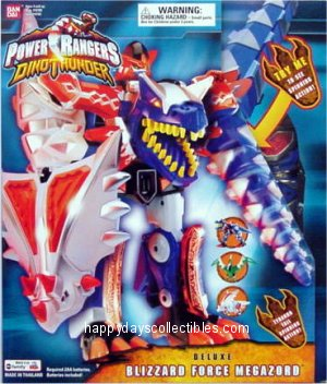 Power Rangers Dino Thunder Deluxe Blizzard Force Megazord Happydayscollectibles Com